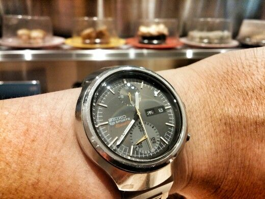 Just a Tokei Zara Speedtimer grey dial