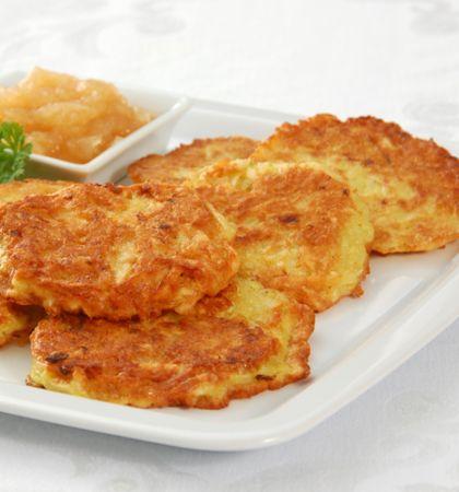 Panqueques de patatas estilo australiano