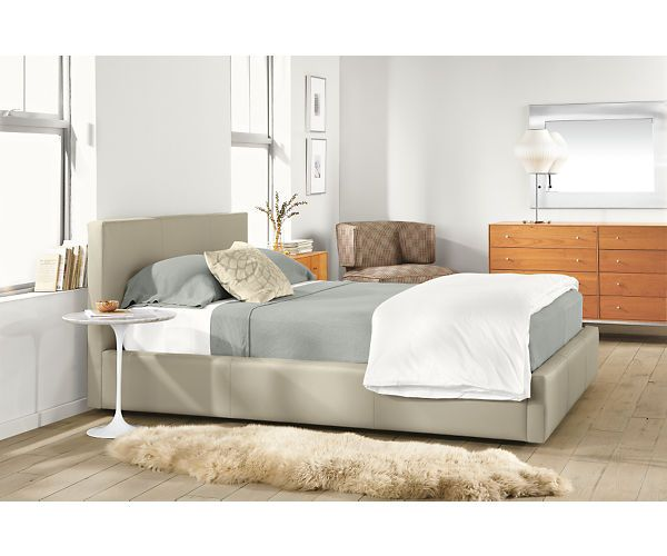 wyatt leather bed beds with storage beds and storage