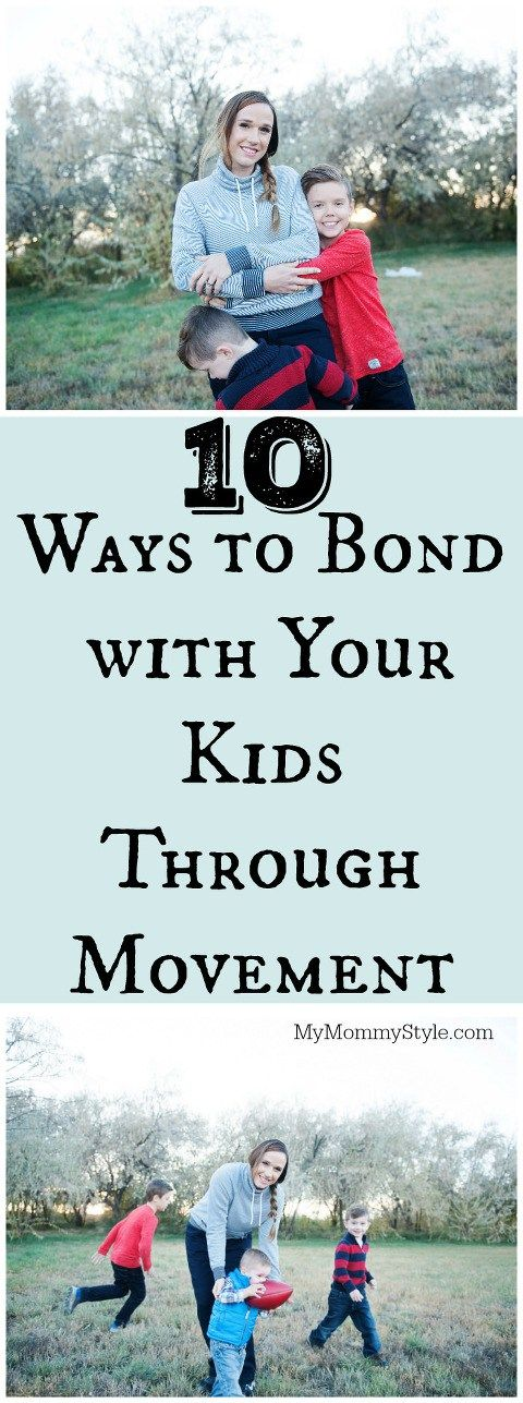 7 Ways to Bond with Your Kids Through Movement #ad