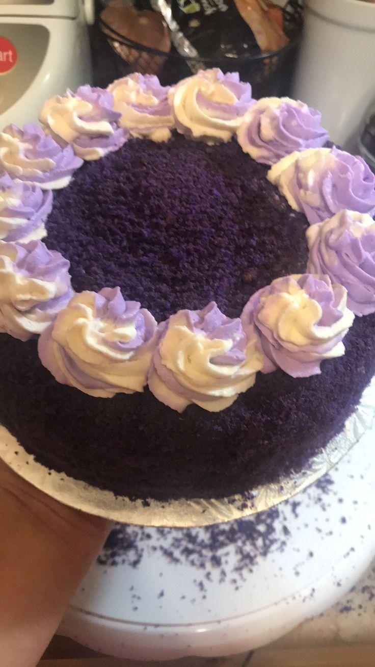 ube cake in 2020 Cake, Birthday cake, Ube