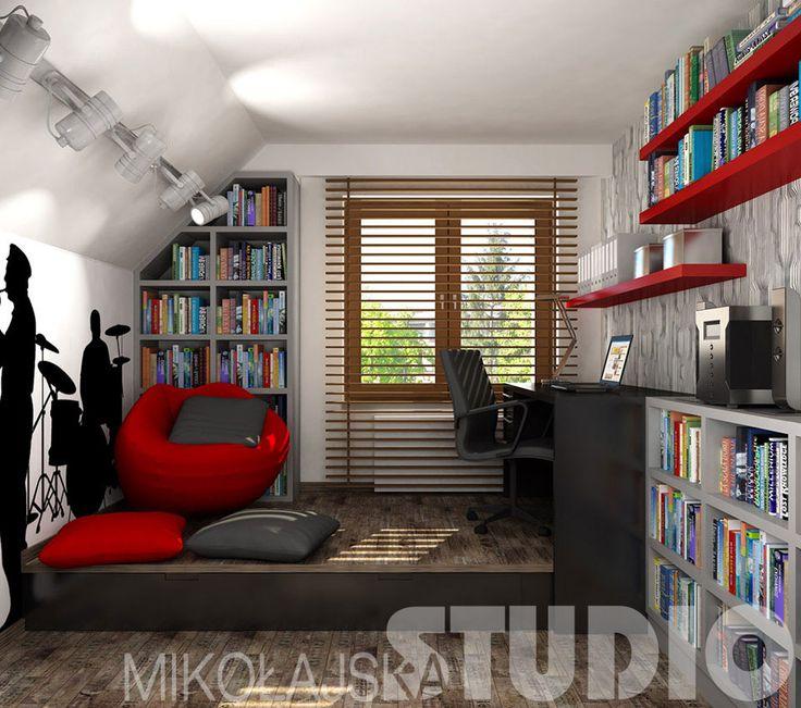 Pokój dla nastolatka – MIKOŁAJSKAstudio Krystyna Mikołajska