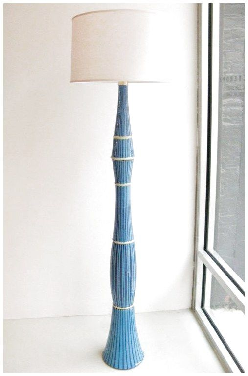 San Polo Ceramic Floor Lamp From A Unique Collection Of Antique