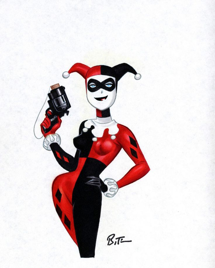 11 best images about harley quinn on pinterest bruce. Black Bedroom Furniture Sets. Home Design Ideas
