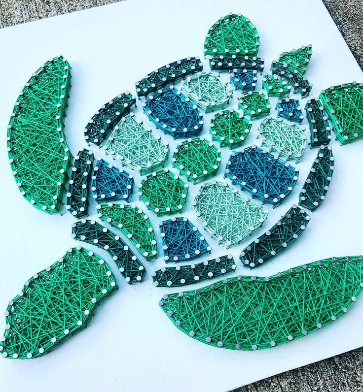 "78 Likes, 5 Comments - Whitney Nobis (@hookedbywhitney) on Instagram: ""Um... Yes, please! Turtle order complete  #hookedbywhitney #stringart #turtle"""