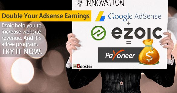 Ezoic Review 2016 - A Content Intelligence Platform Certified by Google Adsense for website optimization and monetization - help you to increase website Adsense ad revenue from 50% to 200% - FREE to join - Try it to get a boost in ad income & for more organic traffic.