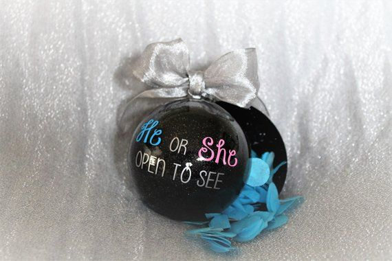 40 Diy Gender Reveal Ideas Having A Baby At Christmastime Here S A Great Gender Reveal Christmas Gender Reveal Gender Reveal Gifts Baby Gender Reveal Party