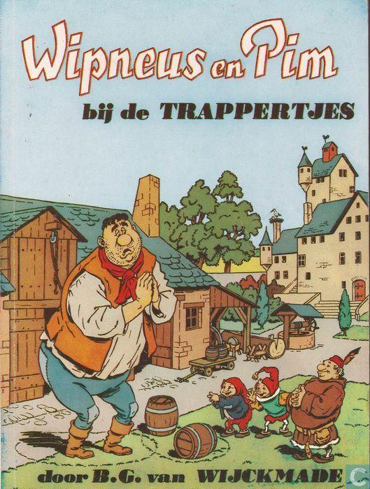 Boeken - Wipneus en Pim - Wipneus en Pim bij de Trappertjes