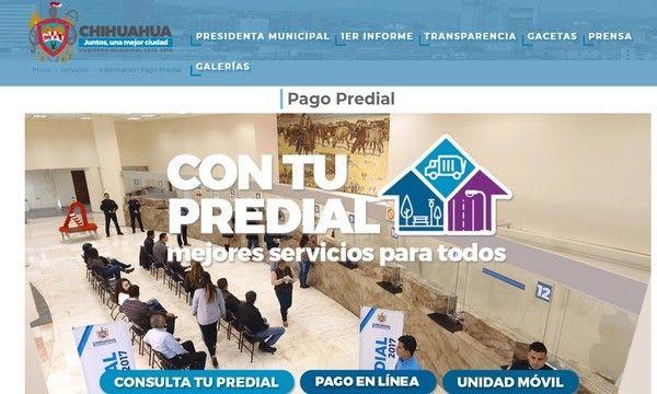 Ofrece Gobierno Municipal pago de Predial en línea | El Puntero