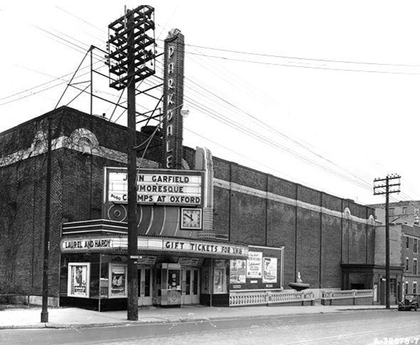 Lost movie theatres of Toronto.