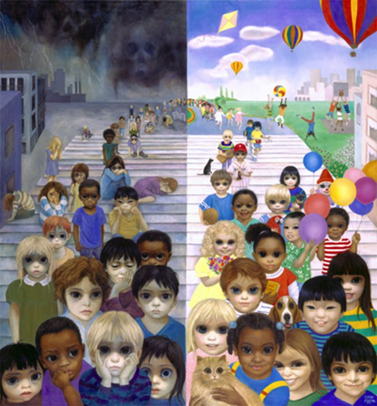 """""""Love Makes A World of Difference"""", 1992 Everything You Need To Know About Margaret & Walter Keane, Tim Burton's Latest Obsession"""