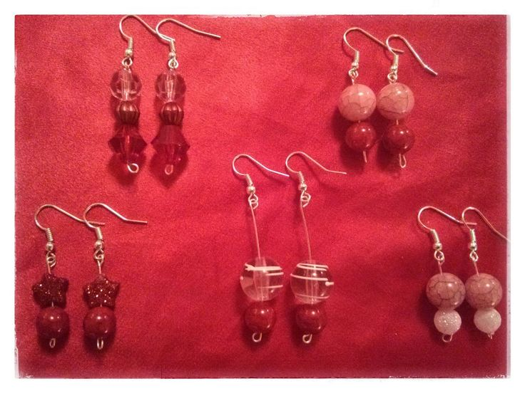 #pretty #pink #red #earrings #sparkly #handmade #designer #SharonElaine #new #fashion #trendy #sophisticated #feminine #cute #China #Suzhou #limitededition  Unrepeatable and Perspicacious: The Limited Edition Suzhou Silk Collection