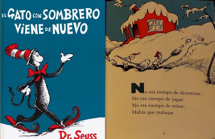 El Gato con Sombrero Viene de Nuevo Por Dr. Seuss - Libro Leido en YouTube