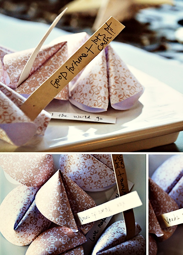 How to Fold an Origami of a Fortune Cookie - photo#35