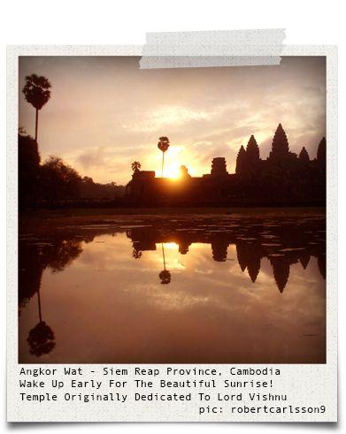 Angkor Wat - Siem Reap Province, Cambodia (pic: robertcarlsson9 (https://www.instagram.com/robertcarlsson9/) via www.hiddentreasures.ch)