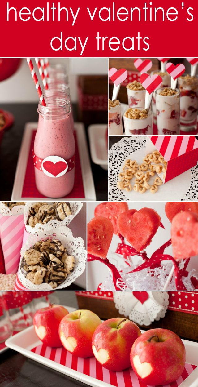 Healthy Valentine's Day Treats for Kids: Healthy Heart, Valentine'S Day, Healthy Valentine'S, For Kids, Valentine'S S, Healthy Valentines, Valentines Day Treats, Healthy Food, Desserts Tables