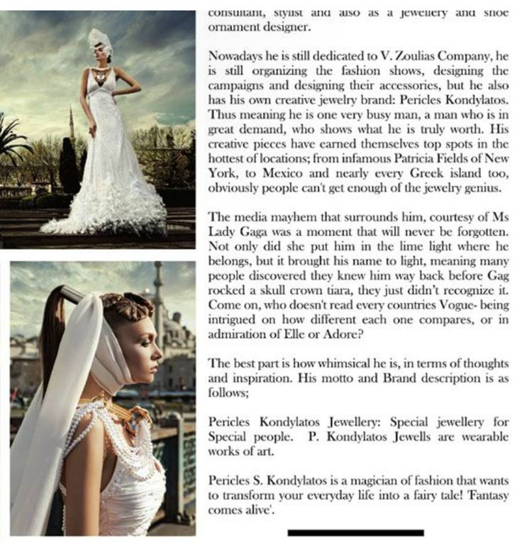 Kondylatos jewels featured @ Fashion Zone Magazine  Fashion Zone Magazine Tenth Issue - September 2015 The Summer Vibe Issue By Sarah White Photo by Fenia Labropoulou http://issuu.com/fashionzoneegypt/docs/fzsummer_vibes_web