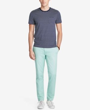 Polo Ralph Lauren Men's Slim-Fit Chino Pants - Green 32x32