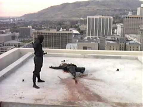 """NINJAS! :) O combate mais BACON de ninjas de todos os tempos,do filme """"Revenge of the Ninja 1983"""""""