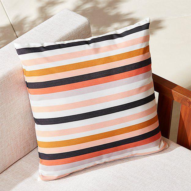 Https Www Cb2 Com 20 La Mer Rose Outdoor Pillow S271978 Outdoor Pillows Modern Accent Pillow Pillows