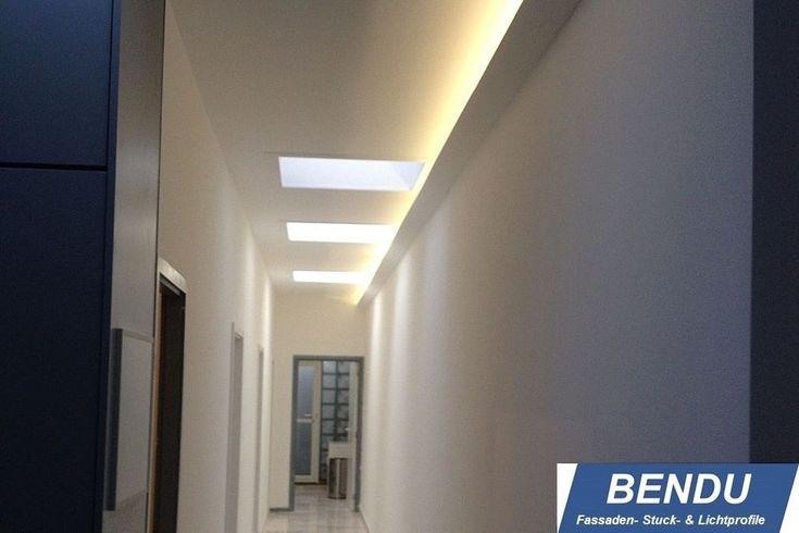 30m Moderne Led Lichtleisten Profile Indirektes Licht Decke Bendu Lichtvouten Ebay Beleuchtung Led Beleuchtung Led