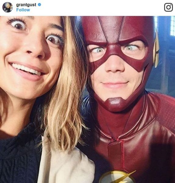 The Flash Star Grant Gustin Is Engaged to Longtime Girlfriend