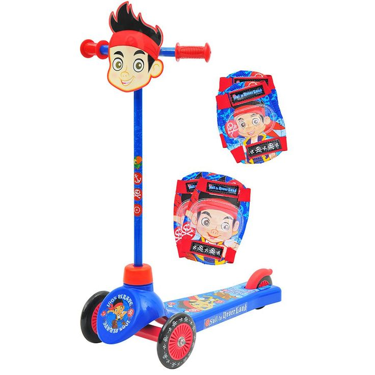 Jake the Neverland Front Tri Scooter with Pad Set | Toys R Us Australia