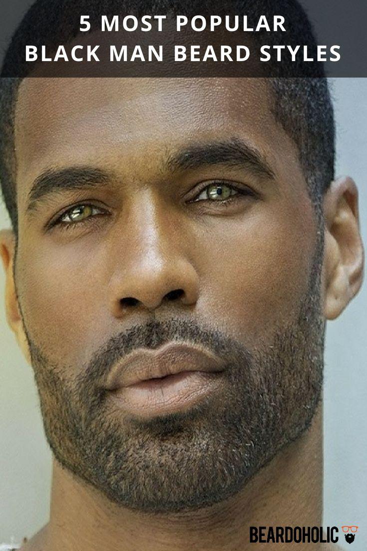 5 Most Popular Black Man Beard Styles From Beardoholic.com