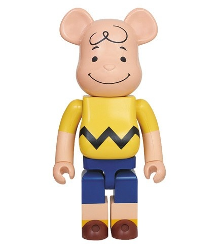 1000% Bearbrick Charlie Brown