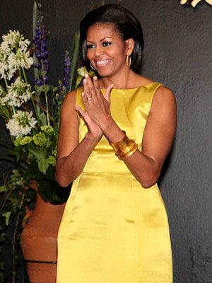 April 14th - Michelle Obama's 2010 Style Diary - Michelle Obama's Style - Fashion - InStyle.com