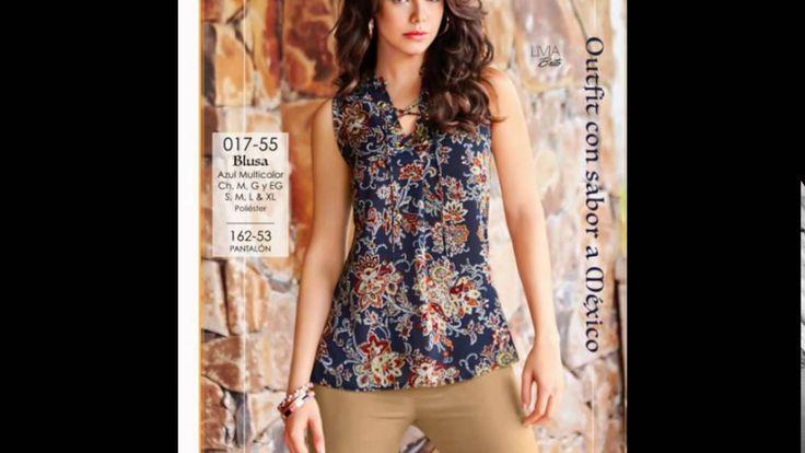 Blusas sin Mangas 2016 para Mujer. Blusas de la marca Cklass para toda ocasión. La colección contiene 20 blusas de manga cero
