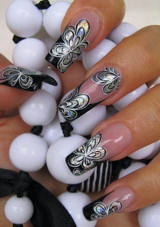 Beautiful Artwork for Long Nails