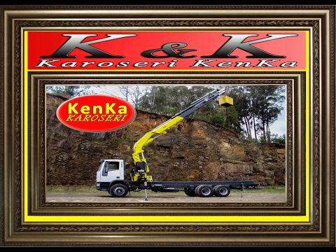 Hyva Crane & Karoseri KenKa ( Mobil - Truck )