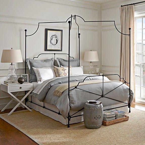 Veronique Canopy Bed Queen Bedroom Theory Pinterest