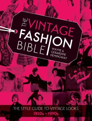 In this book, vintage clothing connoisseurs Wayne and Gerardine Hemingway have created an essential guide to vintage style, providing authoritative answers, tips and suggestions on how to embrace and understand vintage in a practical and inspiring way.