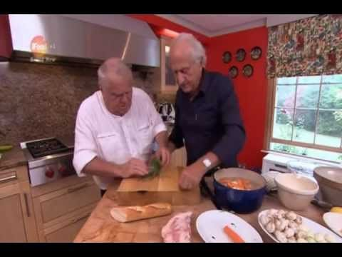 Michel Roux with his brother Albert - from The Roux Legacy.