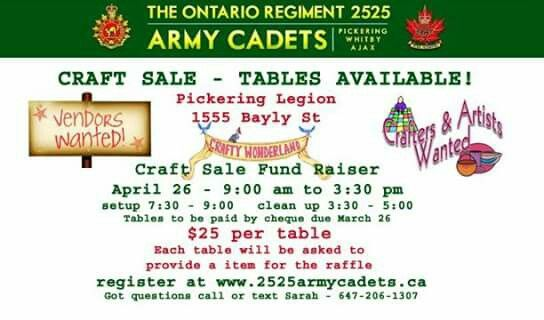 Come join us.  Lots of vendors.