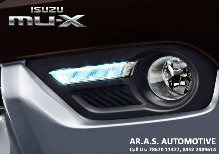 DRL - Daytime Running Lamps deliver excellent illumination for enhanced visibility during bright daytime sunlight, rainy and foggy conditions... #arasautomotive #isuzu #mux #madurai