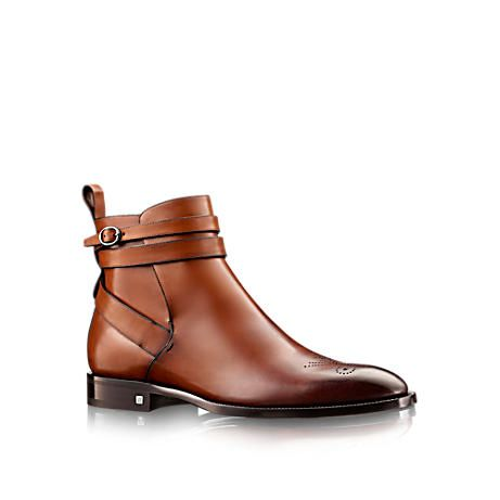 Men's ankle dress boots