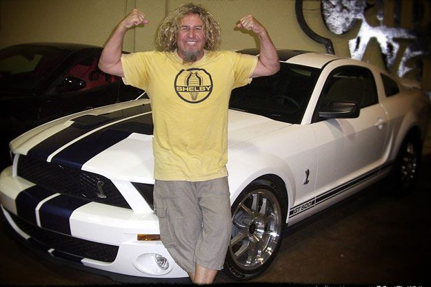 Sammy Hagar Selling His 2007 Mustang Shelby GT500 Coupe!