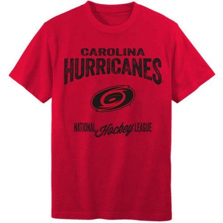NHL Carolina Hurricanes Youth Team Tee, Red