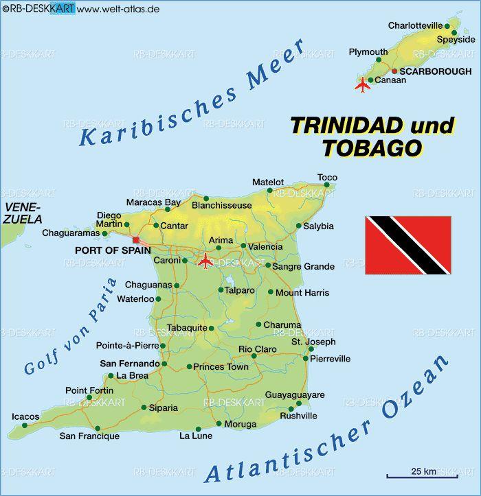 best 25 trinidad and tobago map ideas on pinterest trinidad map