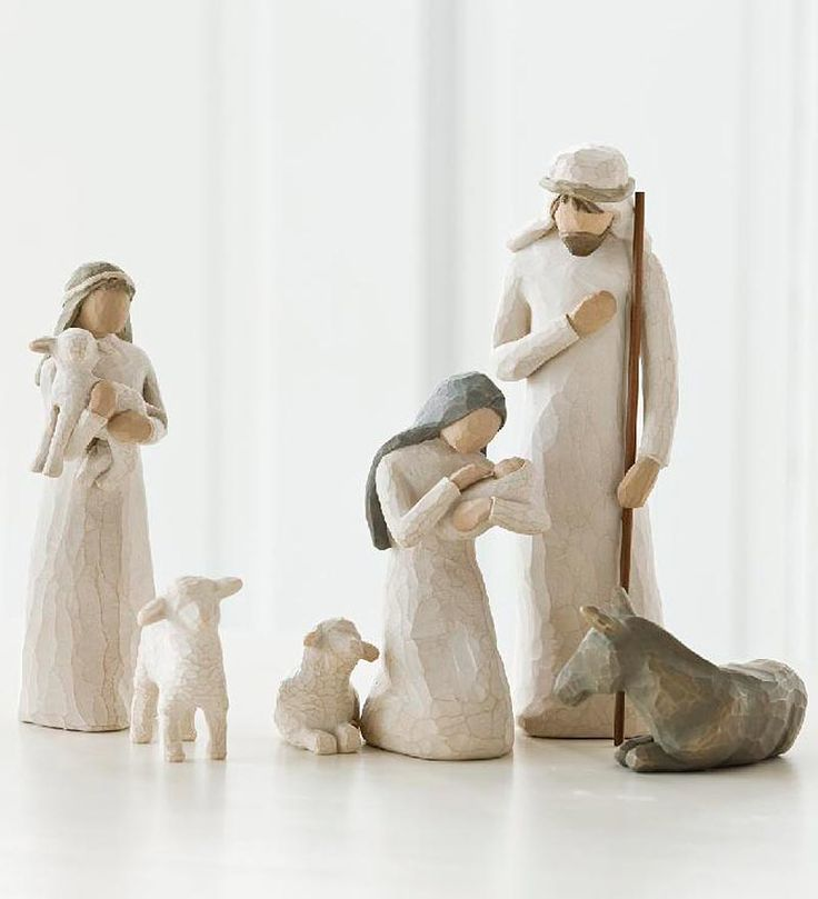 #Willow #Tree #Nativity Set, 6-Piece