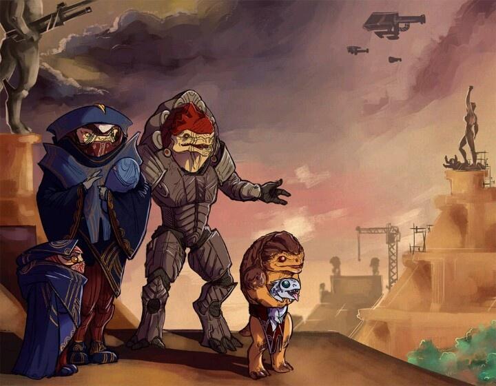 Mass Effect - The future of the krogan