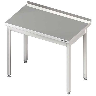 Stół przyścienny bez półki skręcany różne wymiary meble nierdzewne