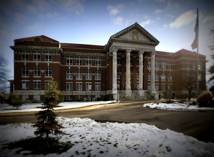 Fay Hall at Michigan School for the Deaf.  My sister went to school here.
