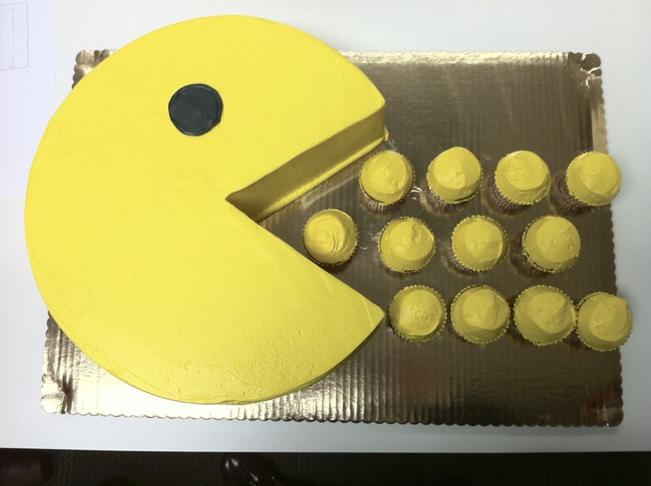 PAC-MAN cake from a Sept 2011 NAMCO Management conference; Photo suggested by Jorge Vega!