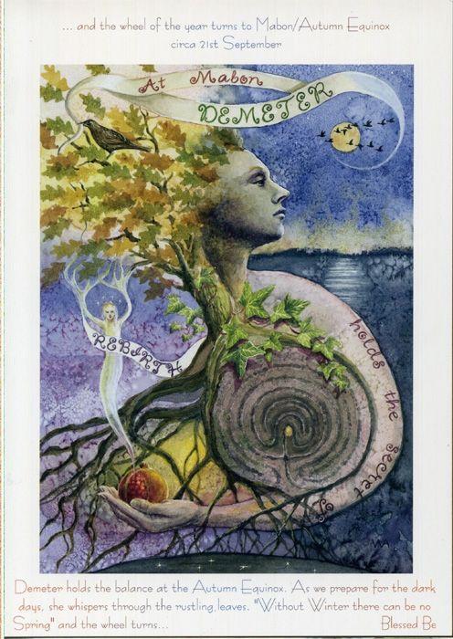 autumn equinox crafts cerimonies | ... Festivals And Sabbats | Goddess Wheel Of The Year Mabon Autumn Equinox