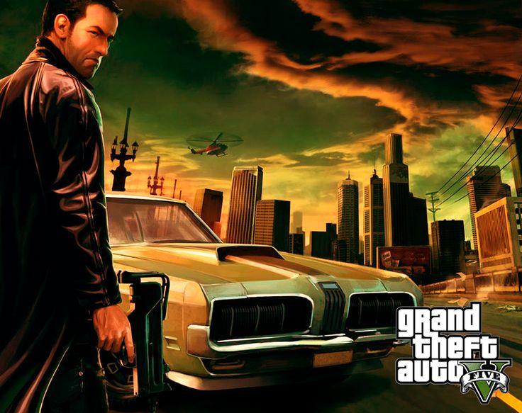 Grand Theft Auto V Fan Art General Gaming Pinterest