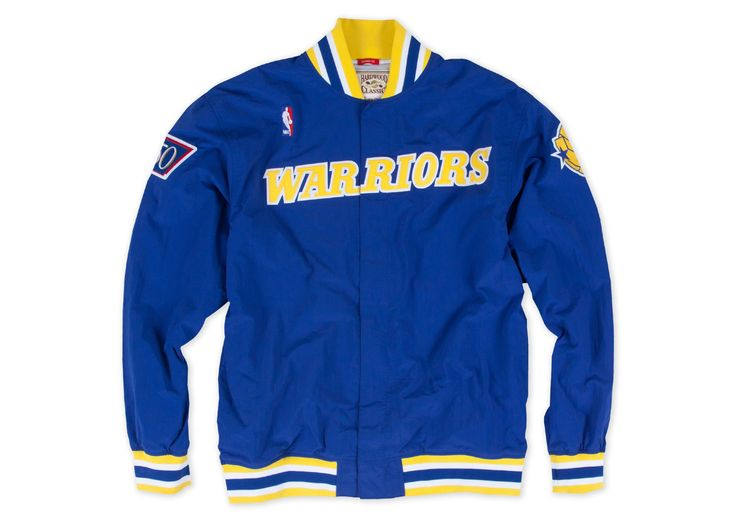1996-97 Authentic Warm Up Jacket Golden State Warriors - Shop Mitchell & Ness NBA Outerwear and Jackets